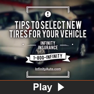 Watch the video Tips to select new tires for your vehicle