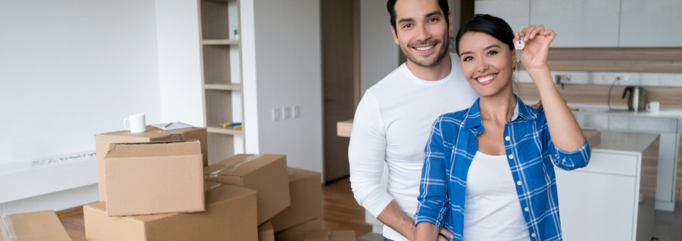 couple moving into first apartment
