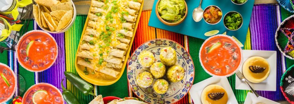 cinco de mayo food celebration