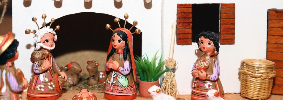 Posadas nativity scene
